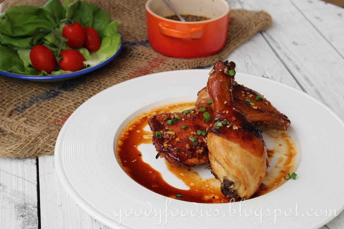 GoodyFoodies: Recipe: Korean Grilled Chicken (Bobby Flay)