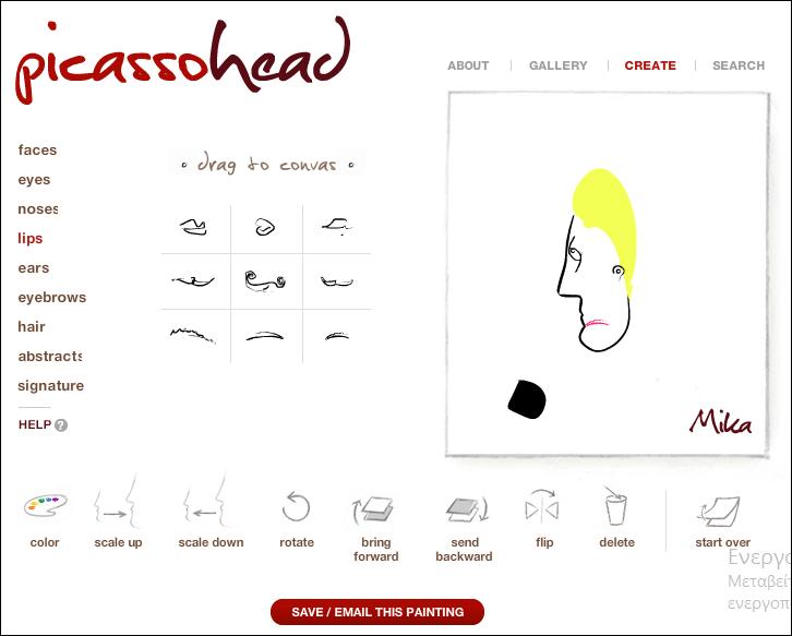 http://www.picassohead.com/create.html