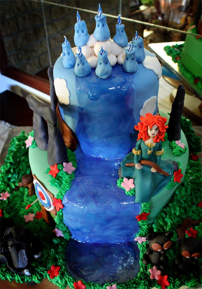 Delana S Cakes Brave Cake