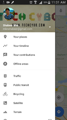 google maps offline android