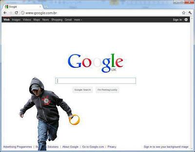 Curinthiano roubando do Google