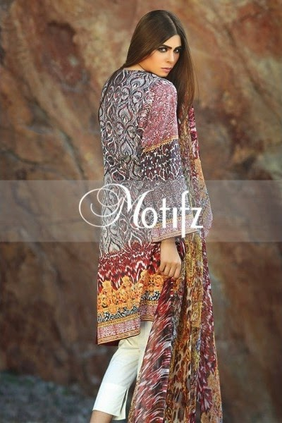 Motifz Summer 2015 Lawn Collection