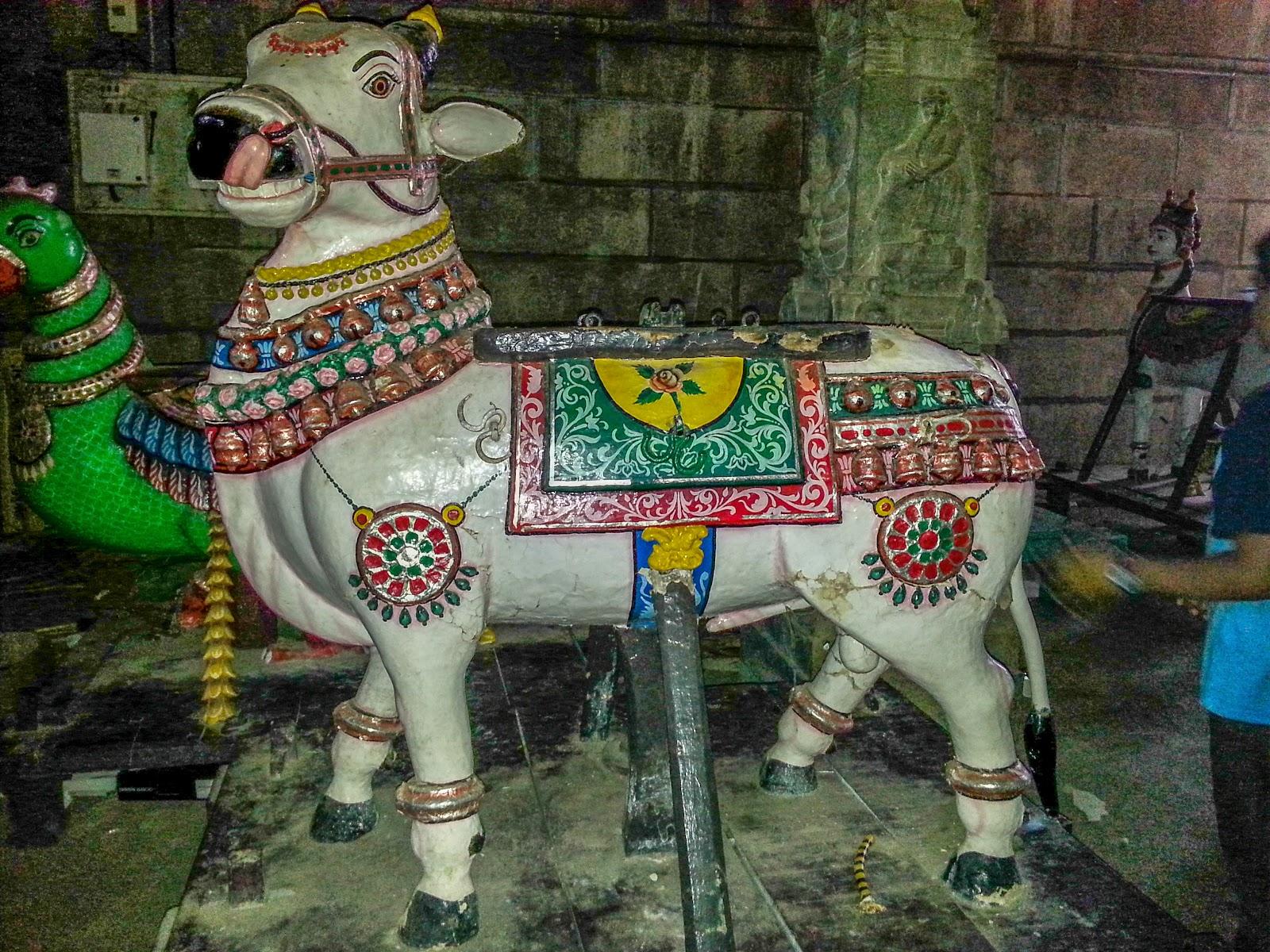 Rishaba Vahana for Lord Shiva