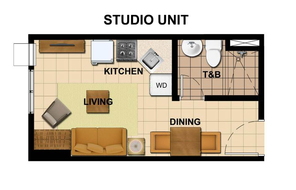Avida Towers Vita Unit Layout Vertis North Condo