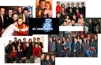 Imágenes del reparto de la serie El Comisario