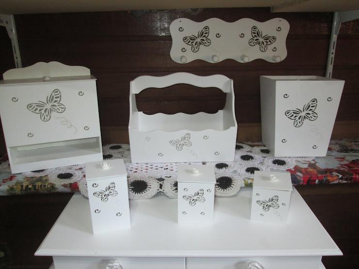 Promoção Kit Bebe Borboletinhas R$ 90,00 com 7 peças