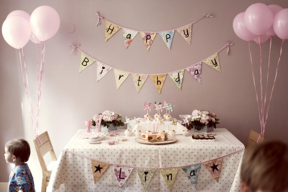 decoracao festa simples:Polka Dot Festas: Festa em Casa – 4 dicas básicas para decorar!