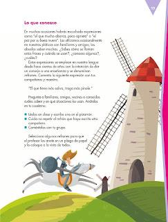 Apoyo Primaria Español 5to grado Bloque I lección 2 Analizar fábulas y refranes