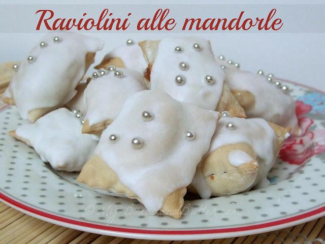 raviolini alle mandorle cotti al forno!!!