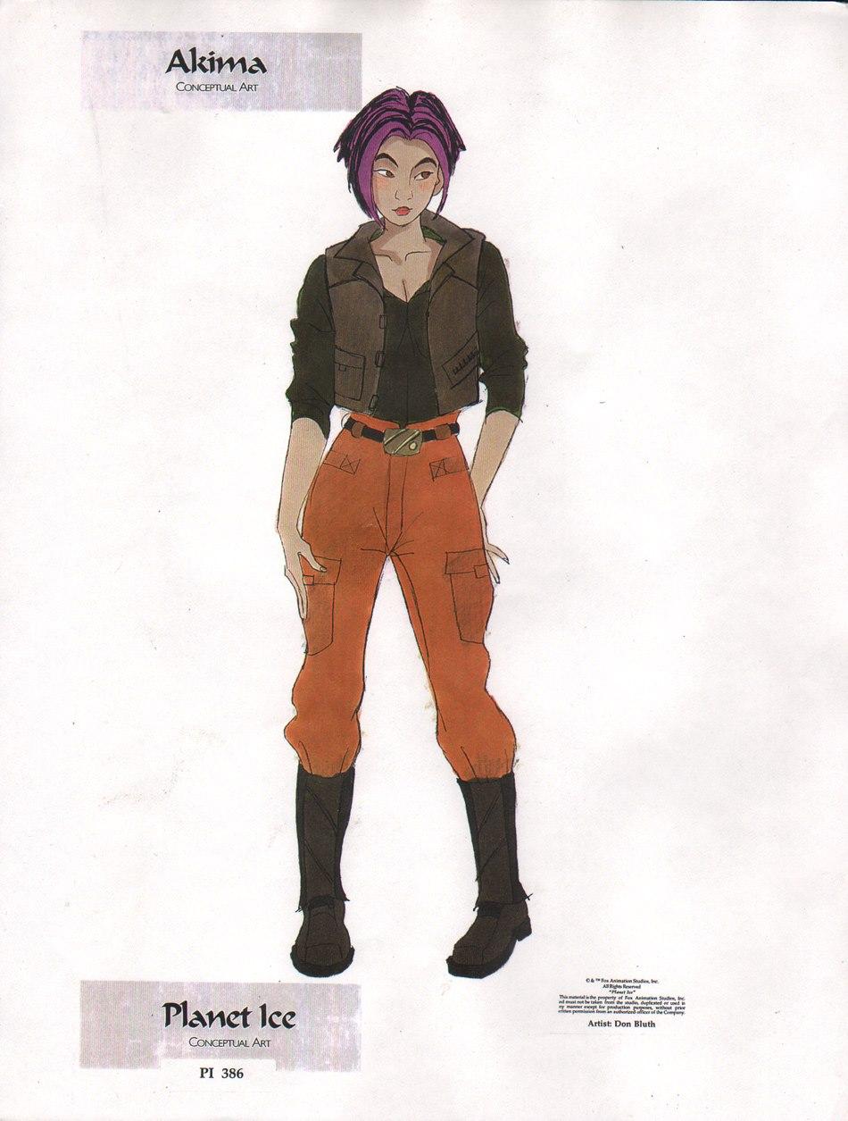 E cosplay akima a Titan