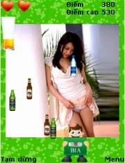 game hung bia