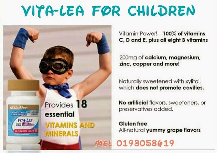 multivitamin untuk kanak-kanak