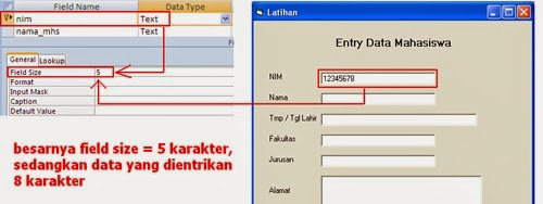 FAQ : Cara Mengatasi Run Time Error -2147217887 Multiple-Step Opertion Generated Errors Pada Visual Basic 6.0