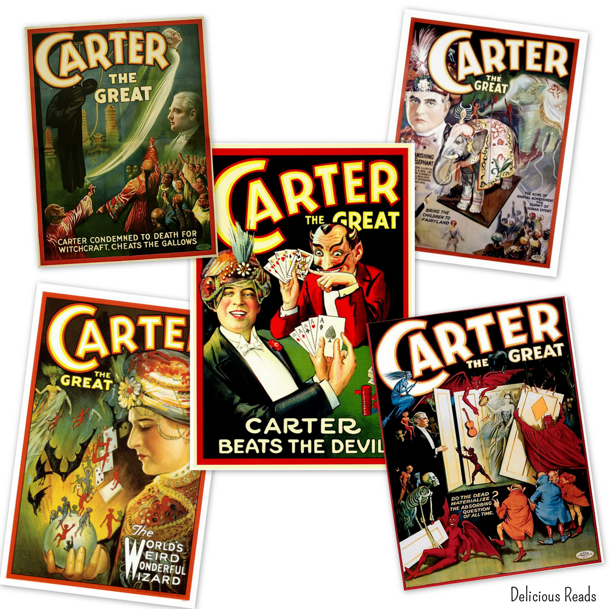 Carter Beats the Devil posters