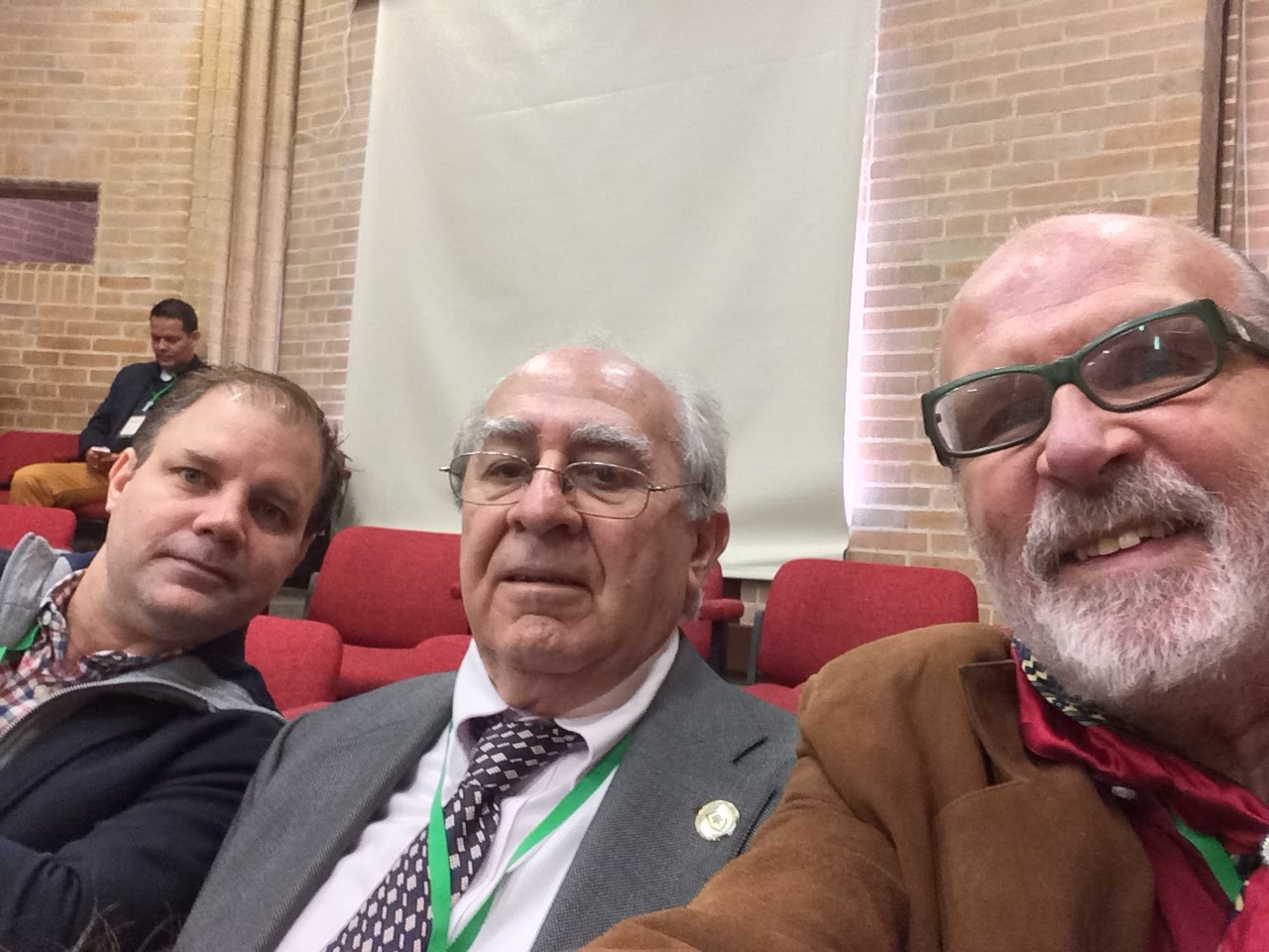 Con Luis Alvaro Gallo y Joan ferrer