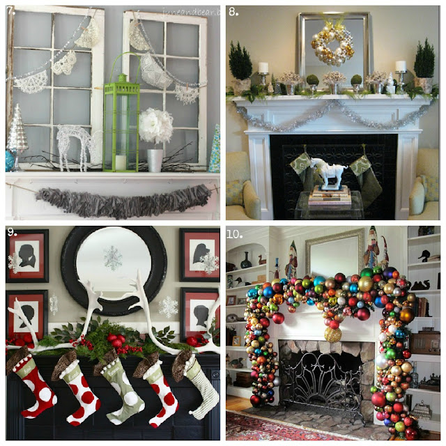 Christmas, crafts, DIY, desserts, 100, mantels