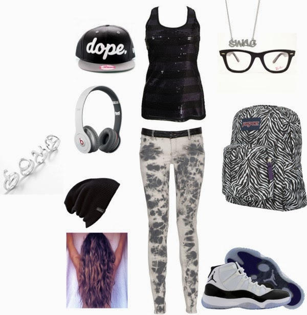 HOW TO DRESS UP AS A SWAG STAR  !! YEAH