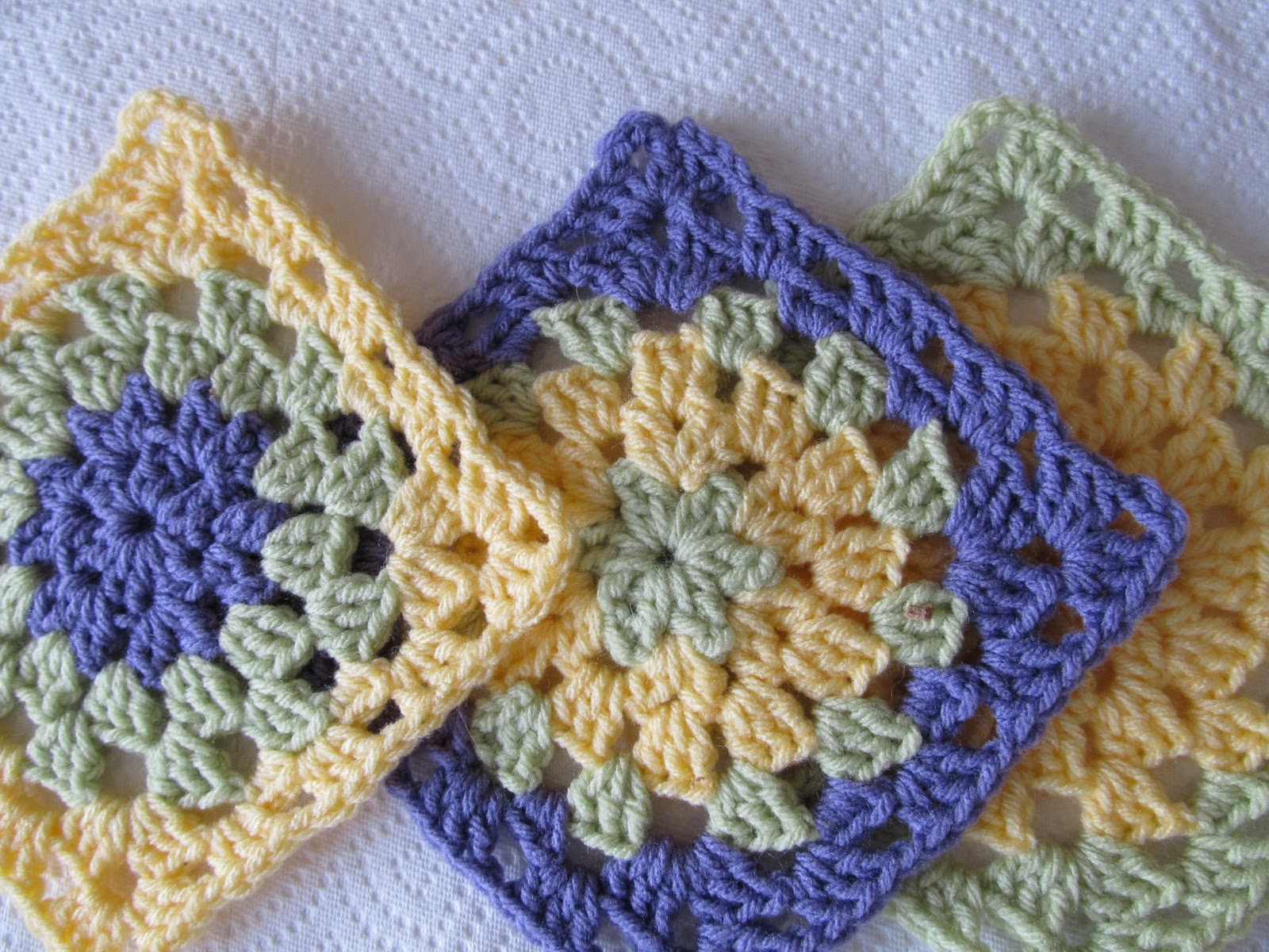 Crochet For Charity : Free Crochet Square Patterns For Your Charity Endeavors