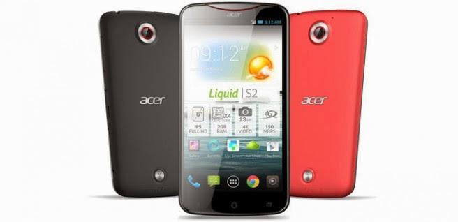 Acer Liquid S2, manual de instrucciones