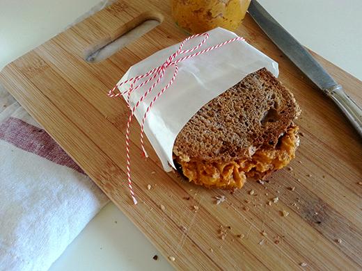 vegan vegetarisch Brotaufstrich Austrich Karotte Möhre Walnuss