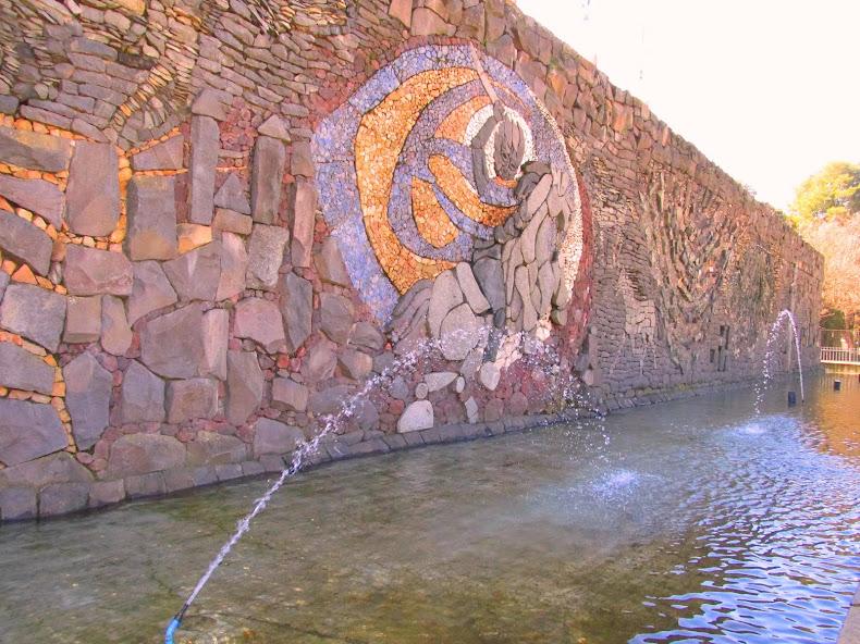 Mural Lítico Parque Monumental Bernardo O´Higgins, Chillán Viejo