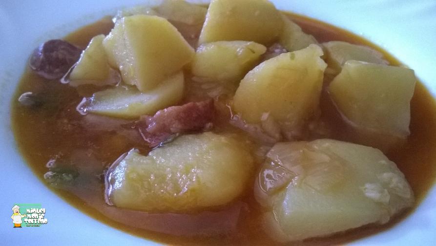 Patatas con Chorizo al estilo de Paquita