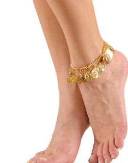 Gold Anklet Bracelet For Women