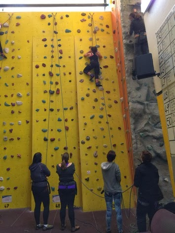 Westway Climbing Centre - spogo bloggers day