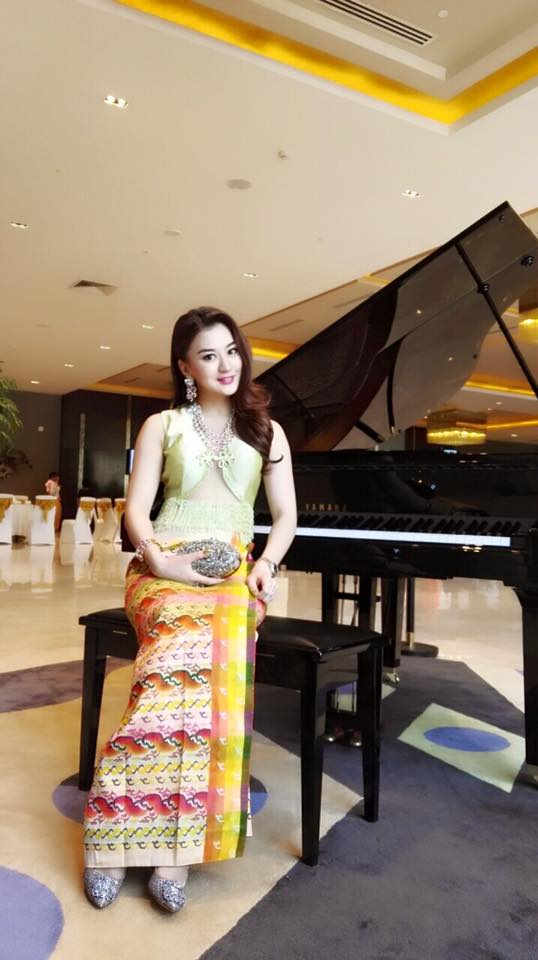 Stunning Wut Hmone Shwe Yi Attends Wedding and Netizens Reaction in Myanmar