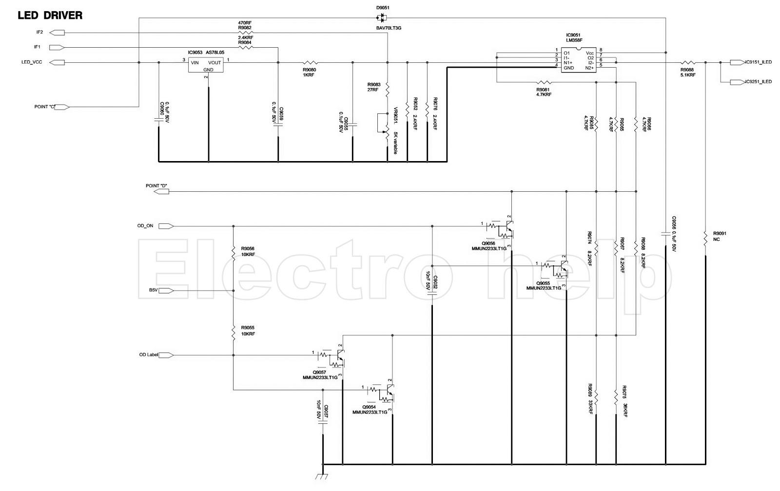 Electro Help  Samsung Bn44 00428b  U2013 Led Lcd Tv Smps