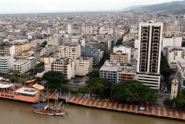 Desde el cielo de Guayaquil