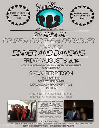 The FICKLIN MEDIA GROUP,LLC: Sistahood 2nd Annual Cruise Along the Hudson River a Night of Dinner and Dancing, Friday August 8, 2014