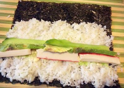 Sushi - przygotowanie