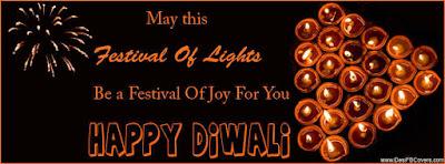Shubh Deepwali 851x315 Facebook Cover Images Wallpaper
