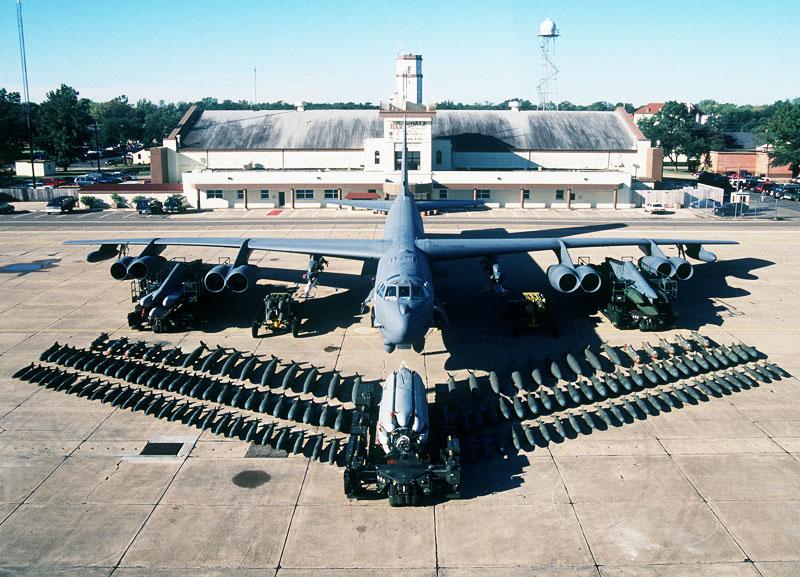 B-52 Stratofortress Long Range Bomber
