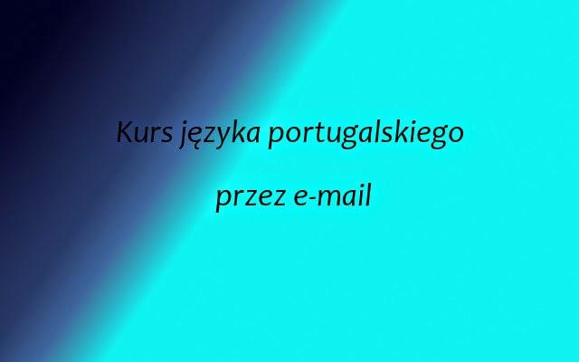 Portugalski przez e-mail