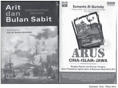 Arit dan Bulan Sabit Arus Islam Cina Jawa