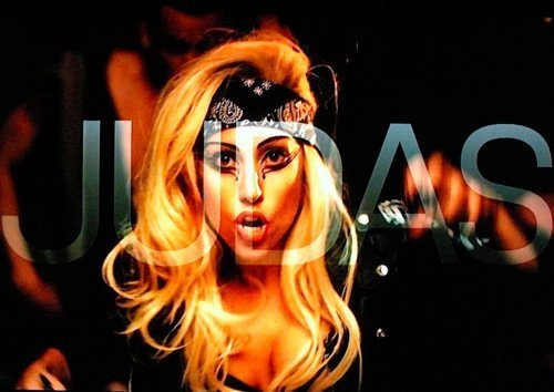 lady gaga judas album cover. Lady Gaga Judas Cover
