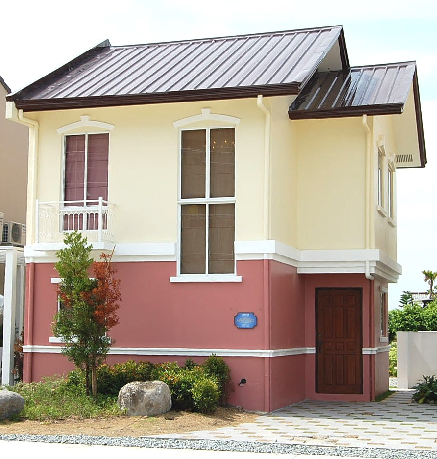 Simple house design in the philippines lancaster new city for Subdivision home designs