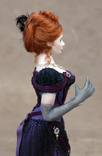 Chantelle Miniature Doll Close Up View