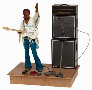 Hendrix Woodstock Figure by McFarlane Toys