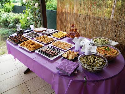 buffet di inaugurazione per il mio rientro ;-)