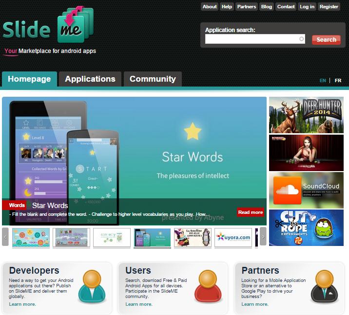 SlideMe Market