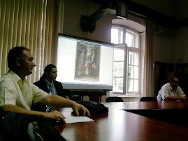Aspect din timpul desfăşurării ultimei şedinţe a CNHGS din anul academic  2011-2012, 12.06.2012...