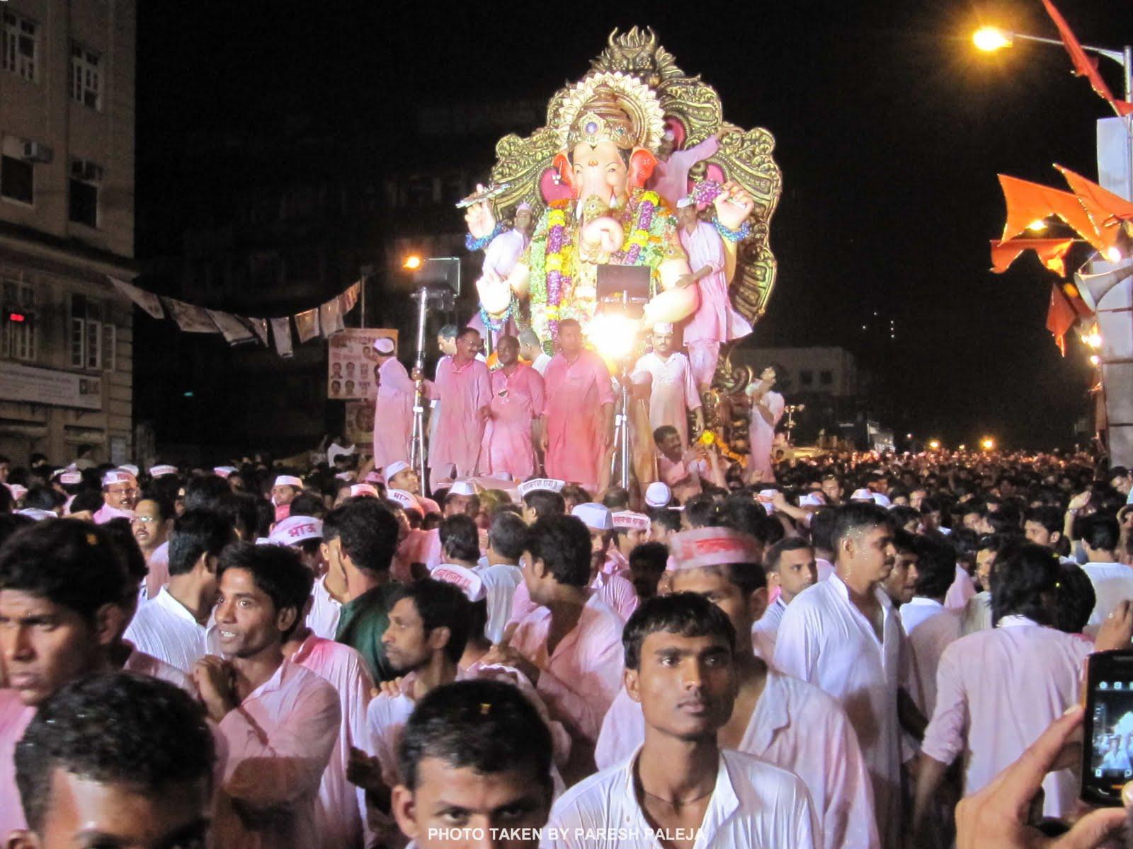 Ganpati Visharajan Darshan Girgaum Chaupati