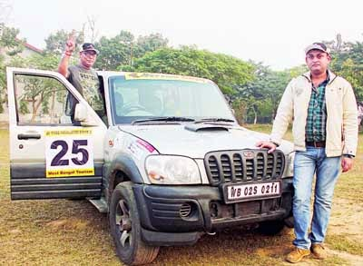 JK Tyre Himalayan Drive car rally in Siliguri