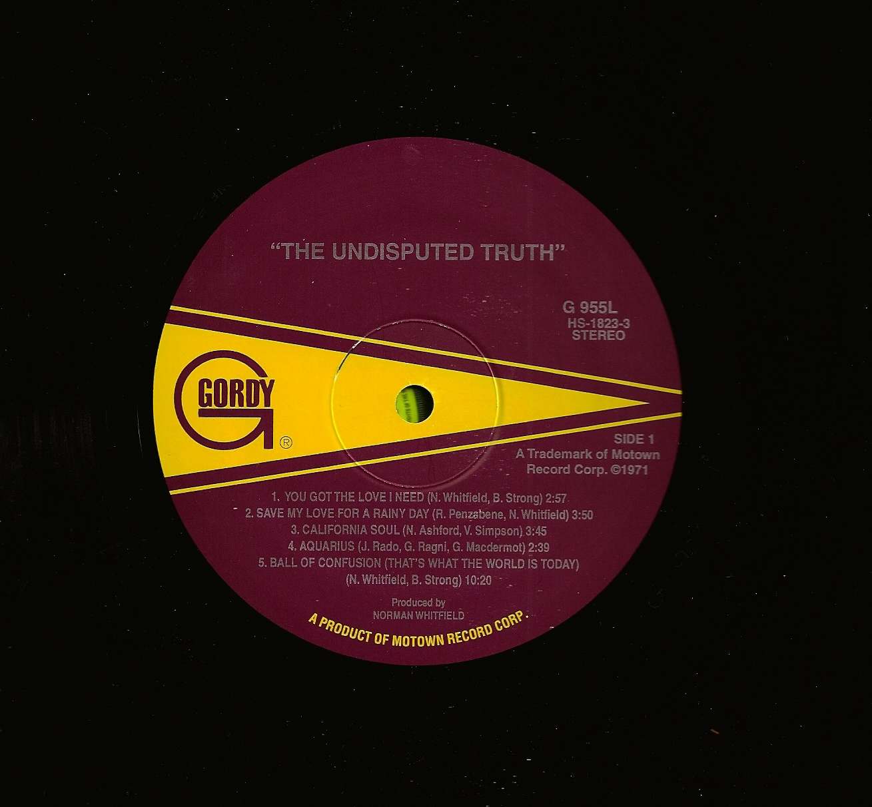 URBAN ASPIRINES: The Undisputed Truth : The Undisputed ...