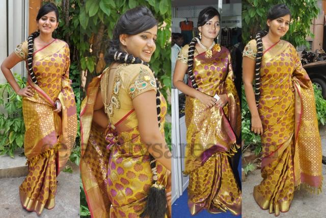 Tanusha Benaras Silk Bridal Saree