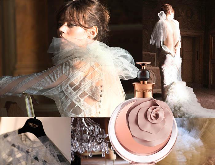 O PERFUME DA VALENTINA_VALENTINA ASSOLUTO_Freja Beha_making of_White dress_vestido branco_Vestido valentino_vestido de gala_vestido de renda_perfume de rosa