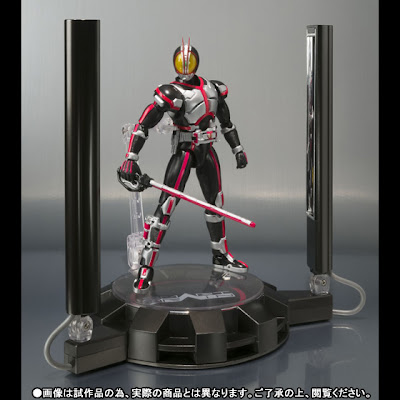 Bandai SH Figuarts Kamen Rider Faiz with Glowing Stage